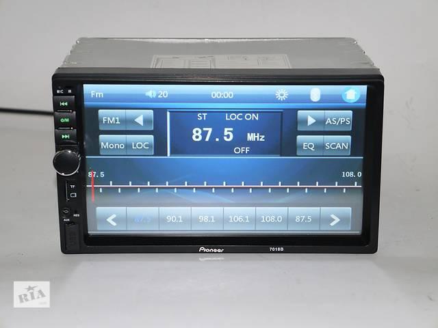 купить бу 2Din Pioneer 7018 7дюймов, Экран Магнитола USB+Bluetoth в Херсоне