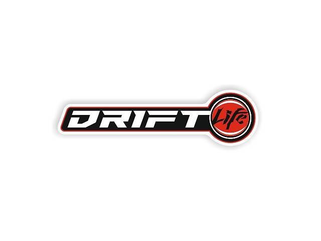 купить бу наклейка на авто Drift Life, 13,5×3,5см в Луцке