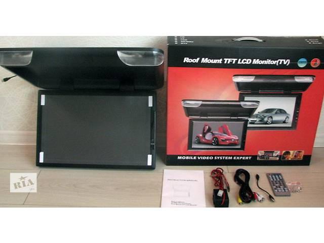 """продам Автомобильный потолочный телевизор, монитор 22"""", с USB и SD бу в Одессе"""