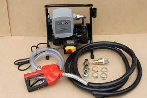 АЗС для перекачки ДТ с механический счетчиком Geko Mini 2200 WAT 40л/мин