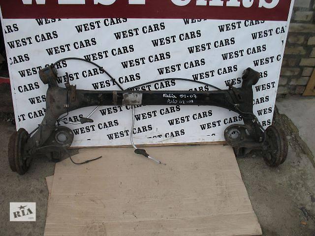 продам Б/у балка задней подвески для легкового авто Skoda Fabia 2004 бу в Луцке