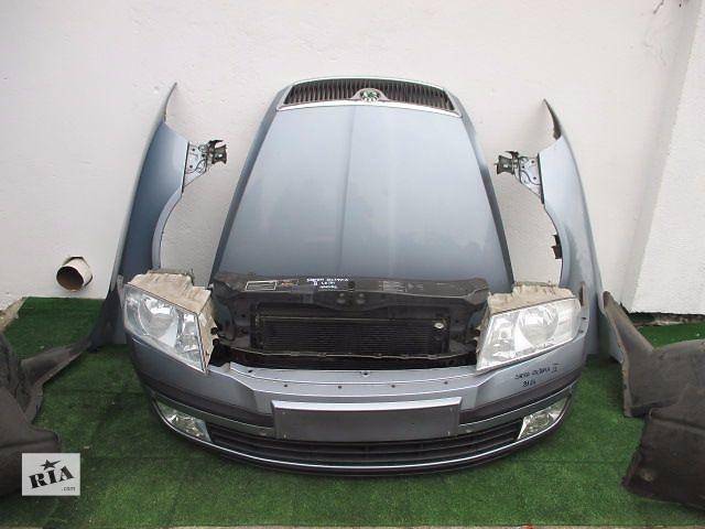 продам Б/у бампер передний для легкового авто Skoda Octavia A5 бу в Львове