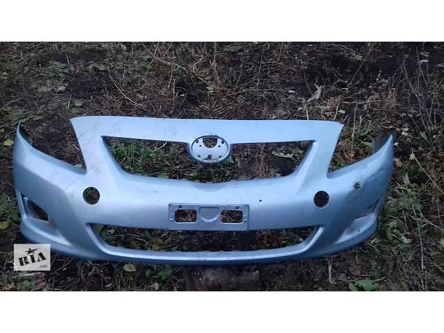 бу Б/у бампер передний для Toyota Corolla под ремонт в Володарке