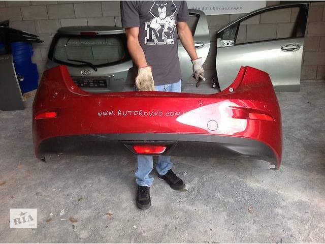 Б/у бампер задний для легкового авто Mazda 3- объявление о продаже  в Ровно