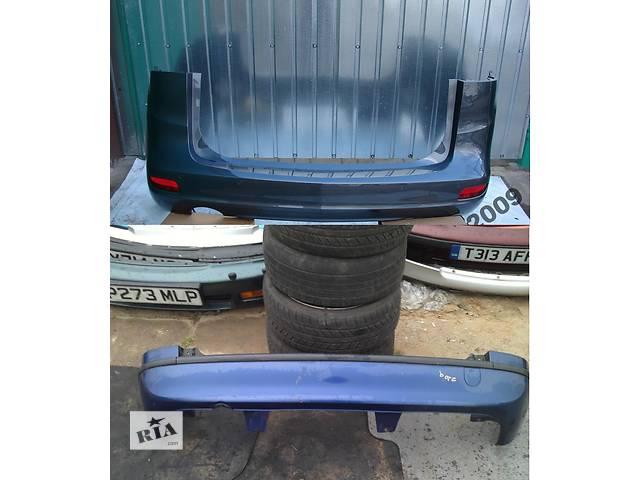 купить бу Б/у бампер задний для легкового авто Opel Zafira в Львове