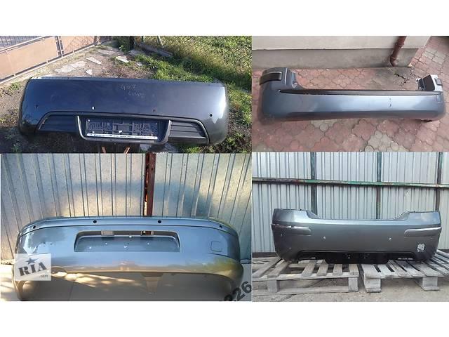 Б/у бампер задний для легкового авто Peugeot 407- объявление о продаже  в Львове