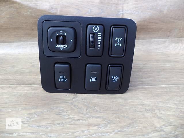 бу Б/у блок кнопок в торпеду 84870-60090, 84480-60020, 84871-60030, 84415-60030 для кроссовера Lexus GX в Николаеве