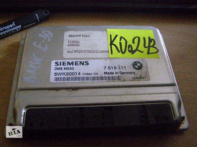 продам Б/у блок управления двигателем для легкового авто BMW 5 Series  2.2i 7518111 бу в Таврийске