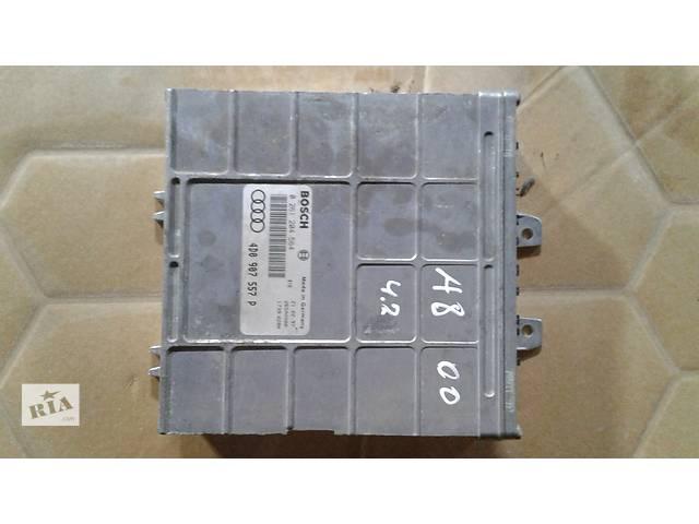 бу Б/у блок управления двигателем для седана Audi A8 4D0907557D в Львове