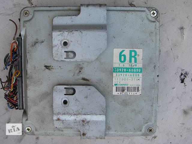 купить бу Б/у блок управления двигателем Suzuki Baleno 1.6i 16V G16B 1996, 33920-60GS0, DENSO 112000-3751 в Броварах