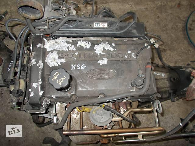 Б/у Детали двигателя Двигатель Ford Transit 2.0 бензин № NSG- объявление о продаже  в Стрые