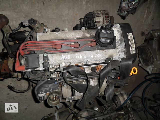 продам Б/у Двигатель Seat Cordoba 1,4 бензин 16V № AUB бу в Стрые