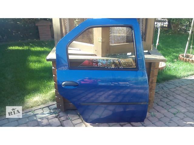 Б/у дверь задняя для легкового авто Renault  Dacia Logan- объявление о продаже  в Львове