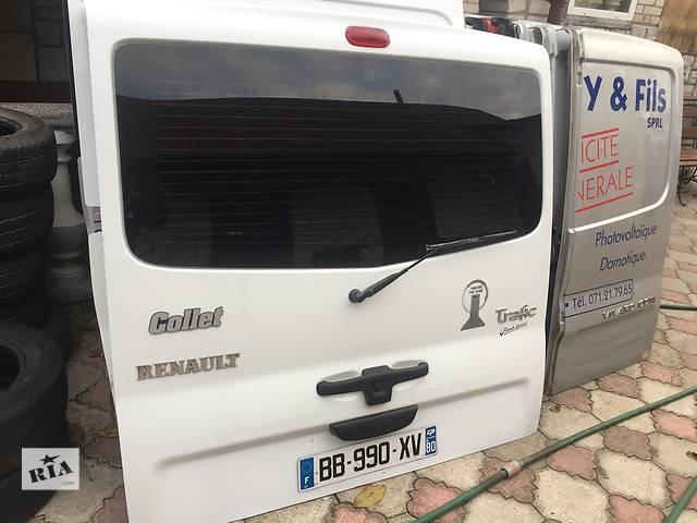 Б/у дверь задняя для легкового авто Renault Trafic- объявление о продаже  в Ковеле