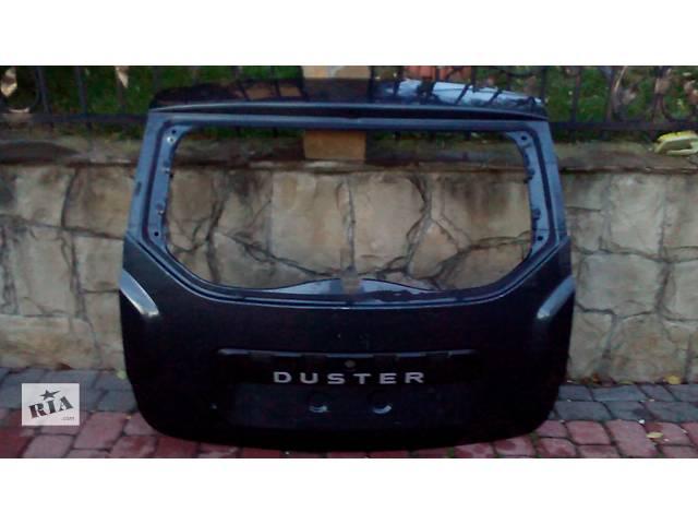 продам Б/у дверь задняя для легкового авто Рено Renault Дастер Duster бу в Львове