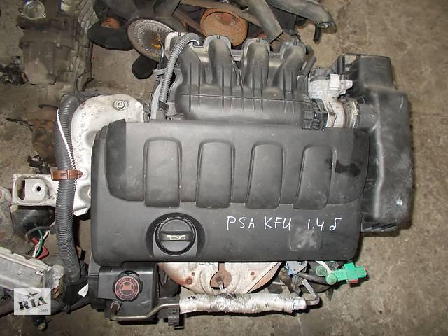 продам Б/у Двигатель Peugeot 308 1,4 бензин 16V № PSA KFU бу в Стрые
