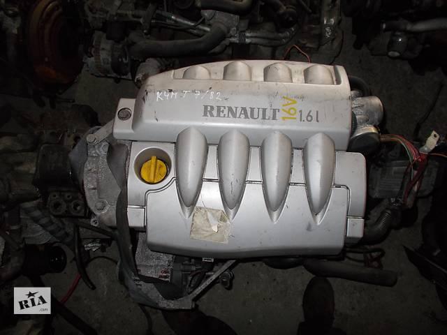 Б/у Двигатель Renault Megane 1,6 бензин 16V № K4M T 7/82- объявление о продаже  в Стрые