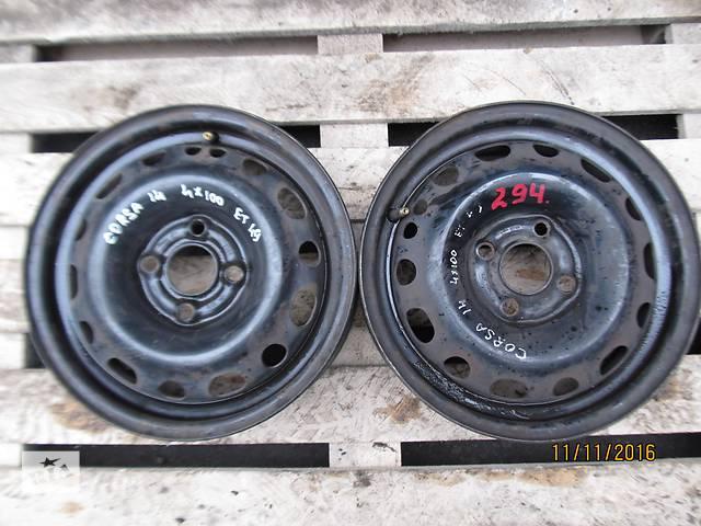 бу Б/у диск для легкового авто Opel R14 в Ровно