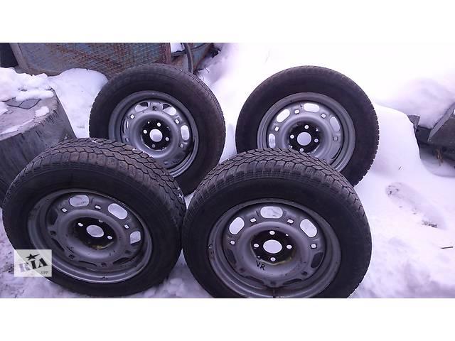 продам Б/у диск с шиной 14 зима для легкового авто Volkswagen Caddy бу в Житомире