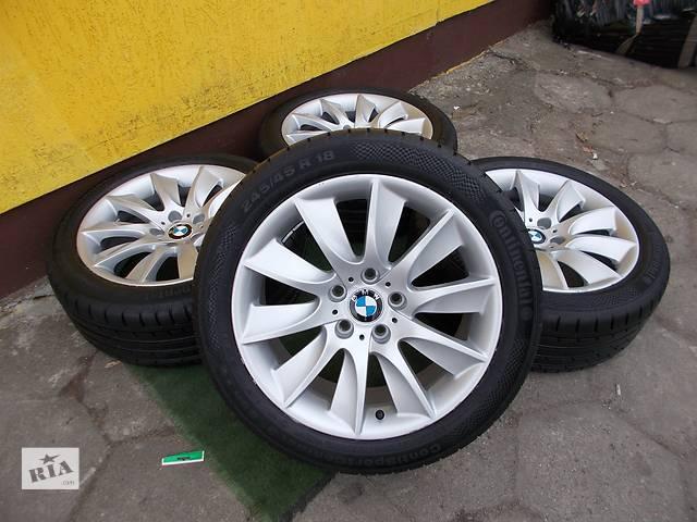 бу Б/у диск с шиной для BMW 5 Series 329 245/45/18 в Ужгороде