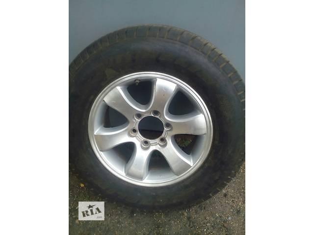 продам Б/у диск с шиной для кроссовера Toyota бу в Червонограде