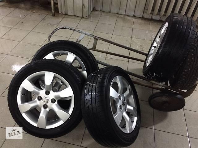 бу Б/у диск с шиной для легкового авто Peugeot 308 в Николаеве