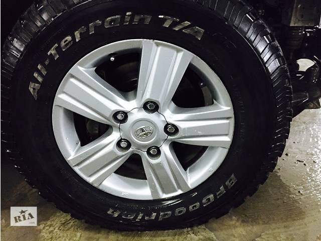 комплект дисков с шинами для авто Toyota 285/65 R18- объявление о продаже  в Чернигове