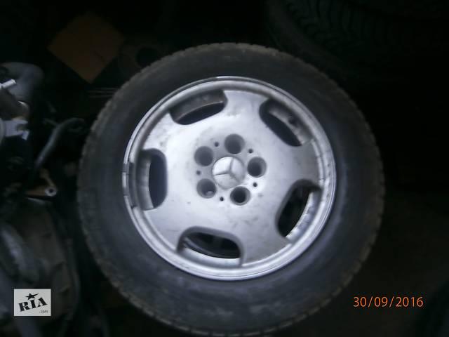 бу Б/у диск з шиною для седана Mercedes 190 в Львове