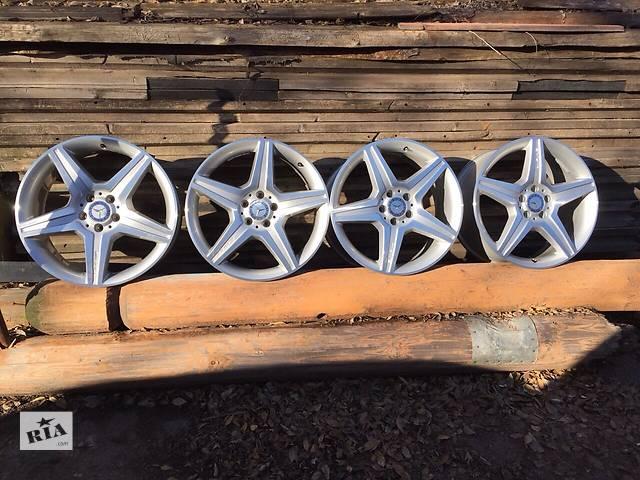 купить бу Б/у диски Mercedes Benz S class AMG R19 original в Кривом Роге (Днепропетровской обл.)