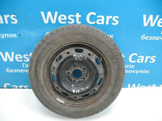 Б / У Диск R14 с шиной 185/60 Fabia 1999 - 2007 6q0601027a. Лучшая цена!- объявление о продаже  в Луцке