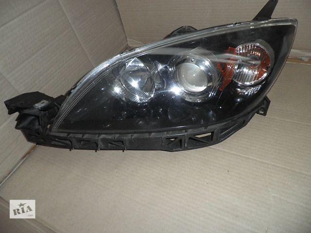 купить бу Б/у Фара левая Mazda 3 Мазда3 хетчбек 03-09 в Киеве