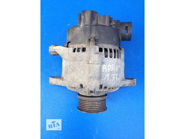 купить бу Б/у генератор/щетки для легкового авто Fiat Bravo 1.9TD 75A (63321613) в Луцке