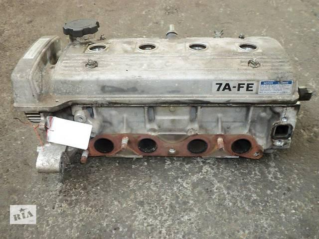 купить бу Б/у головка блока для легкового авто Toyota Avensis 7A-FE 1.8 в Яворове (Львовской обл.)