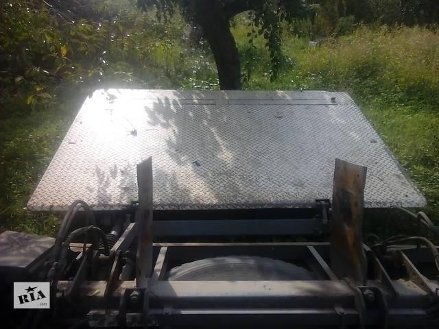 купить бу Б/у гидроборт для грузовика Renault в Валках (Харьковской обл.)