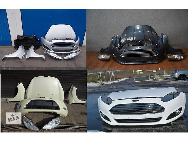 Б/у капот для легкового авто Ford Fiesta mk7- объявление о продаже  в Львове
