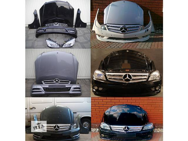 продам Б/у капот для легкового авто Mercedes C-Class w204 07-14 бу в Львове