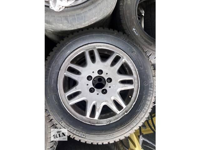 Б/у комплект колес с дисками King - Mailler 215/55/ R/16 Mercedes- объявление о продаже  в Ужгороде