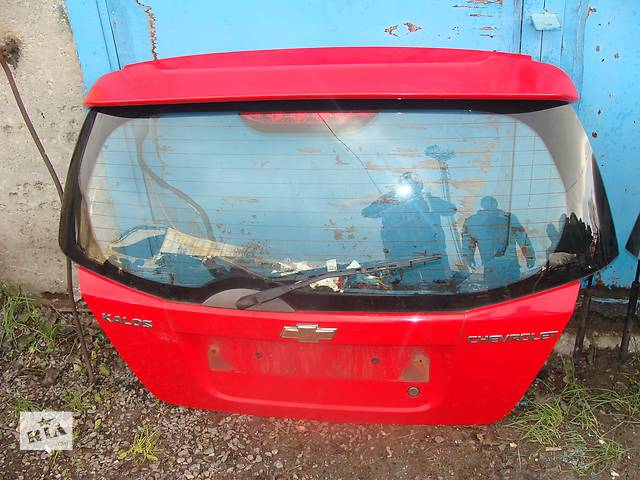 бу Б/у крышка багажника для хэтчбека Chevrolet Aveo в Черкассах