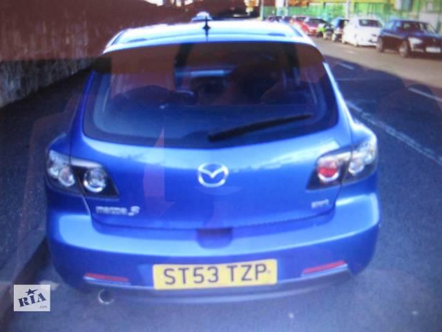 Б/у крышка багажника для хэтчбека Mazda 3- объявление о продаже  в Львове