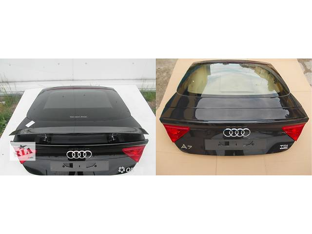 бу Б/у крышка багажника для легкового авто Audi A7 в Львове