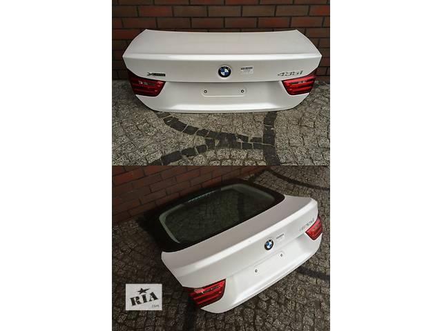Б/у крышка багажника для легкового авто BMW 4 Series f32 f33 f36- объявление о продаже  в Львове