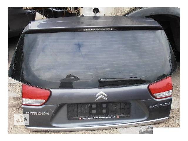 купить бу Б/у крышка багажника для легкового авто Citroen C-Crosser в Львове