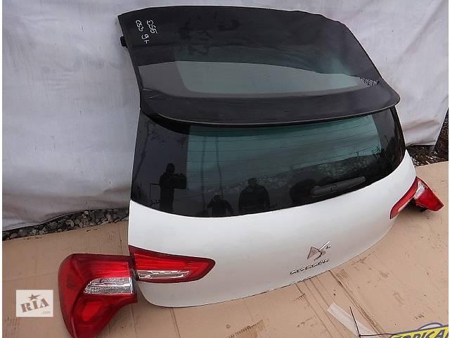бу Б/у крышка багажника для легкового авто Citroen DS5 в Львове
