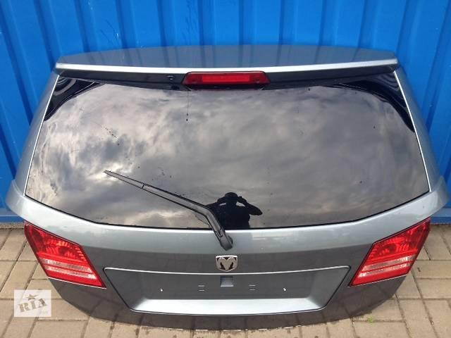 продам Б/у крышка багажника для легкового авто Fiat Freemont бу в Львове