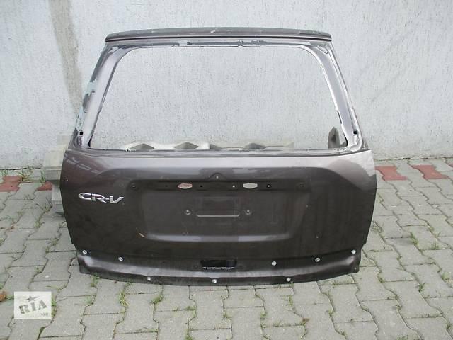 продам Б/у крышка багажника для легкового авто Honda CR-V iii бу в Львове