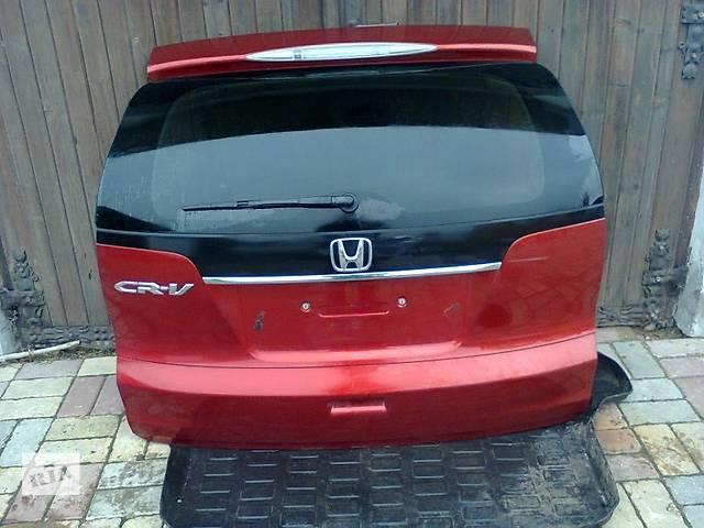 продам Б/у крышка багажника для легкового авто Honda CR-V iv бу в Львове