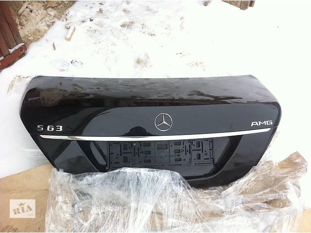 бу Б/у крышка багажника для легкового авто Mercedes S-Class в Ровно