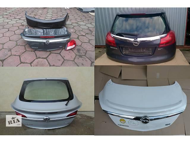 продам Б/у крышка багажника для легкового авто Opel Insignia бу в Львове