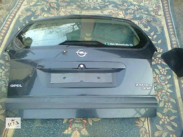 купить бу Б/у крышка багажника для легкового авто Opel Zafira A в Ковеле