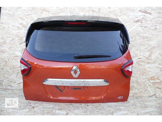 продам Б/у крышка багажника для легкового авто Renault Captur бу в Львове